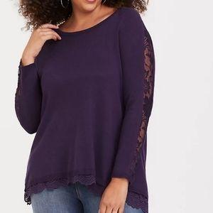 Torrid Purple Sweater